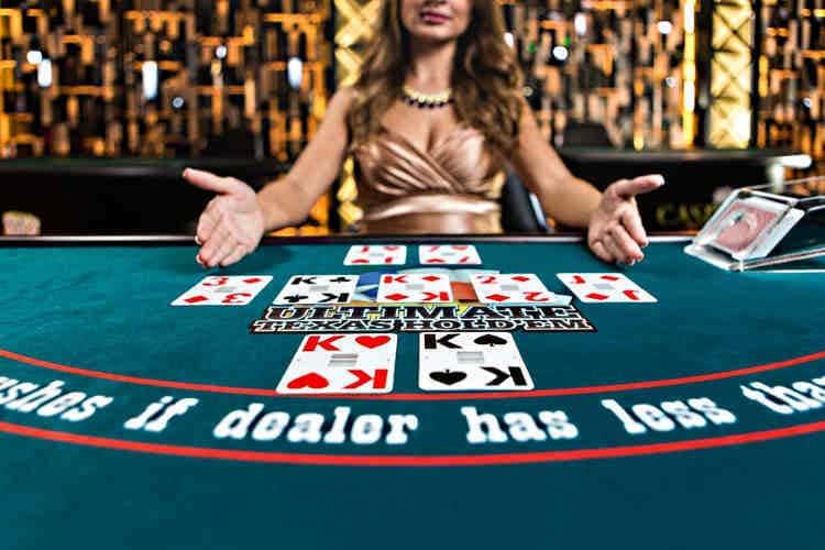 Live casino Texas hold'em